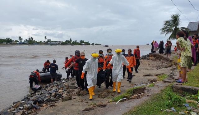 Ketgam : Korban saat di evakuasi