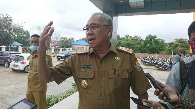 Kepala Badan Pendapatan Daerah (Bapenda) Sultra Yusuf mundu