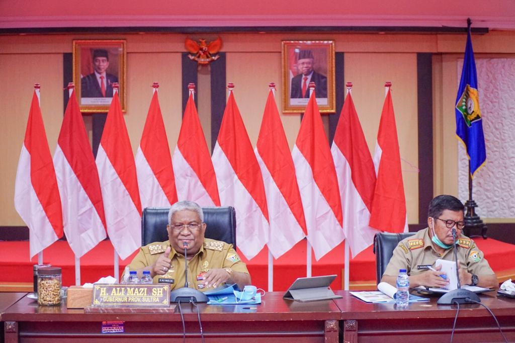 Gubernur Sulawesi Tenggara (Sultra) Ali Mazi