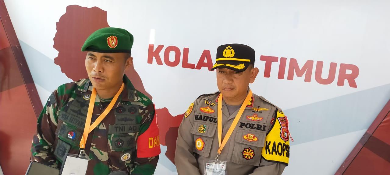 Kapolres kolaka AKBP Saiful Mustofa SIK bersama Dandim1412 Kolaka Letkol (inf) Risa Wahyu Pudji Setyawan