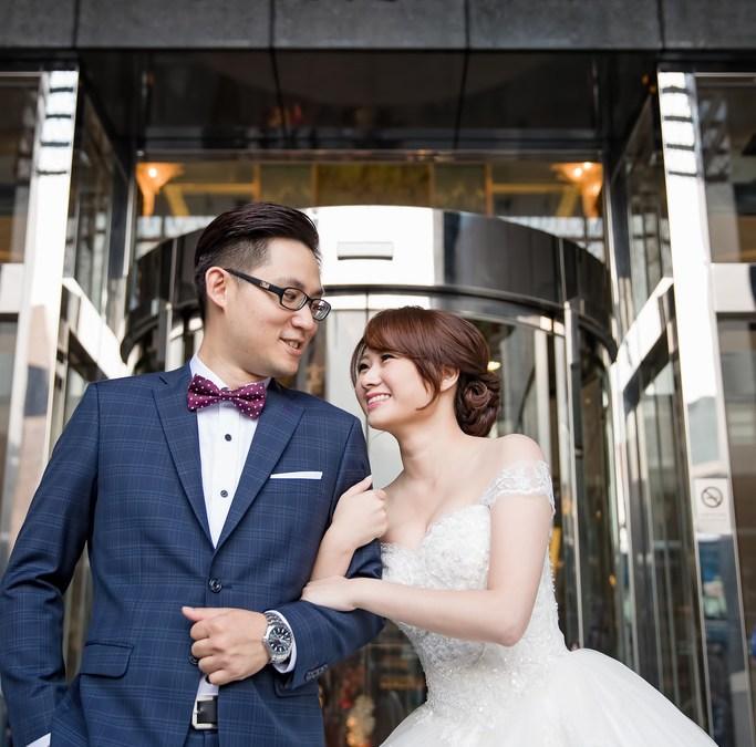 「婚攝」花園大酒店 – Edgar + Allie – 搶先看