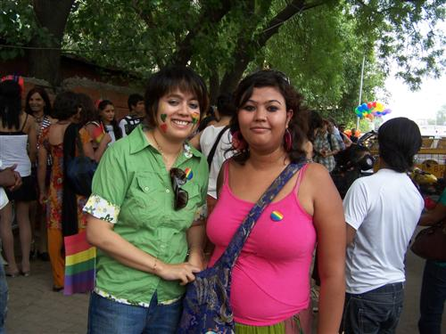 Delhi Gay, Lesbian, Bisexual, Transgender pride parade, June 2009
