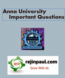Anna University MBA Important Questions Regulation 2017 1st 2nd 3rd Semester