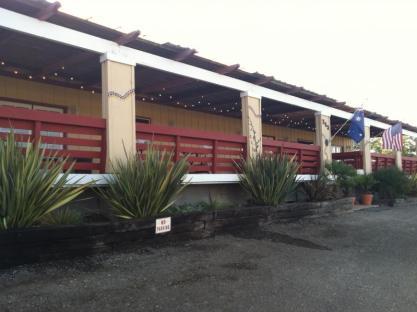 Kalyra Winery Porch