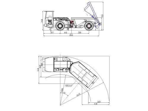 Tip Truck,Mining Dump Truck,China Mining Dumper Supplier