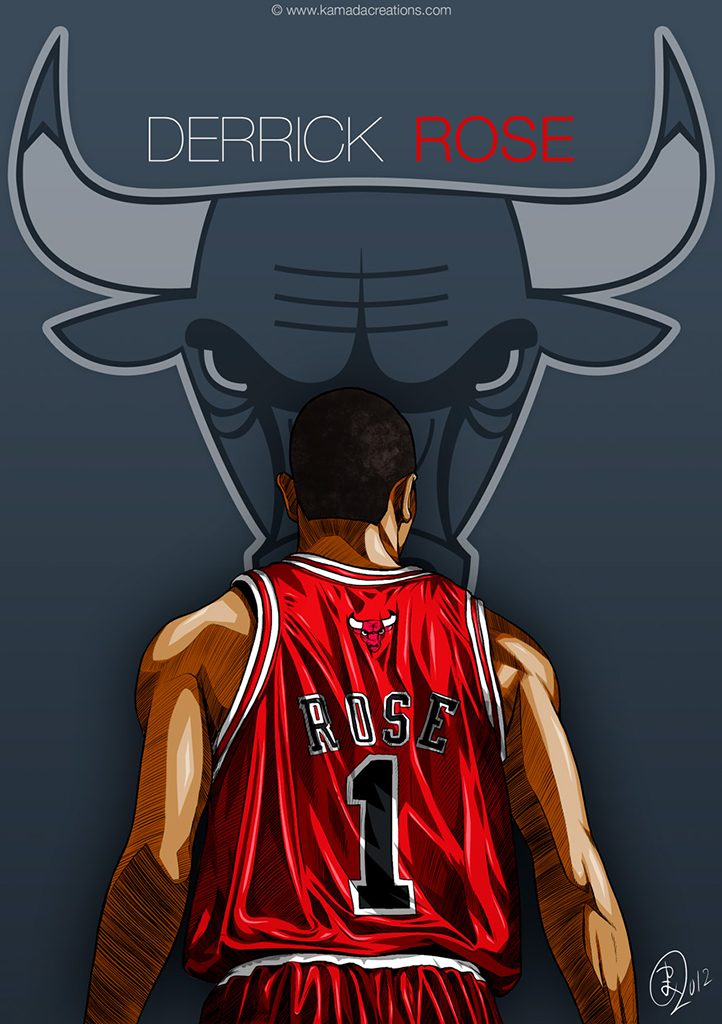 Deviantart Wallpapers Girl Derrick Rose Kamadacreations