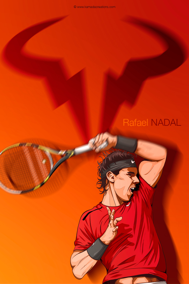 White Wallpaper With Quotes Rafael Nadal Kamadacreations