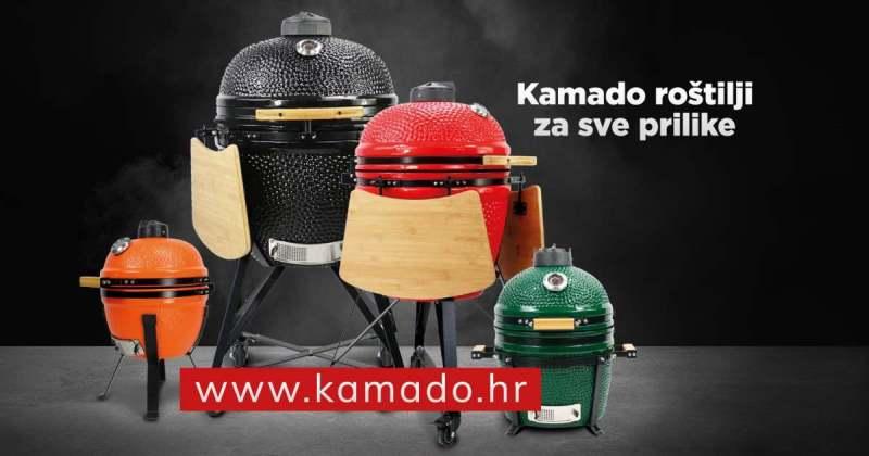 Keramički roštilj na drveni ugljen - BBQ, roštilj, grill, smoker, pizza i krušna peć, indirektno i direktno pečenje