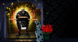 Kamado Madness Midi 21″ – pravi roštilj za vrt i terasu