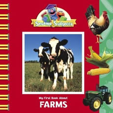 Book cover: My First Book About Farms