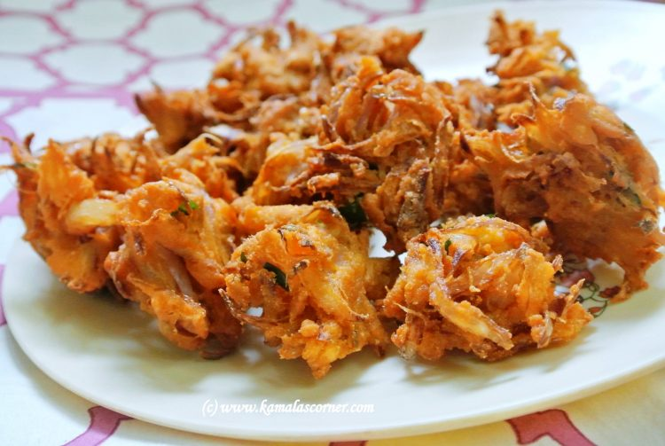 Quick Onion Pakoda