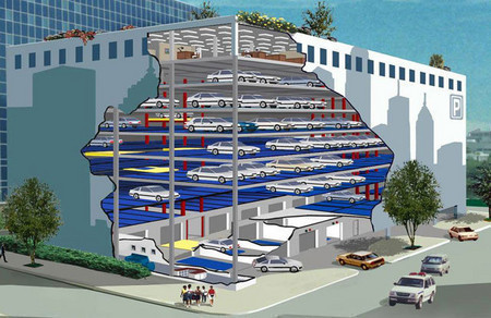 aparcamientos robotizados