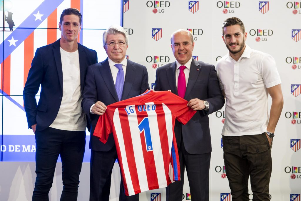 LG y Atletico de Madrid, alianza para un estadio 4.0
