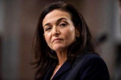 La jefa de operaciones de Facebook, Sheryl Sandberg, en el Dirksen Senate Office Building de Washington, Estados Unidos, hoy, 5 de septiembre de 2018. EFE/ Jim Lo Scalzo