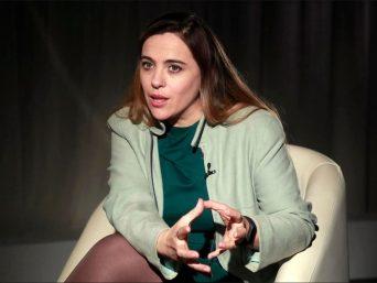 La investigadora del CNIC Guadalupe Sabio. Ángel Díaz/EFE.