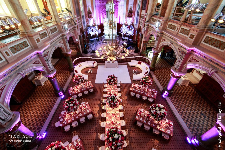 Luxury wedding at Muse de lAmerique francophone  KA Wedding  Wedding Planner Quebec