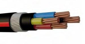 COPPER FLAME RETARDENT (FR) ARMOURED CABLE 600_1000V