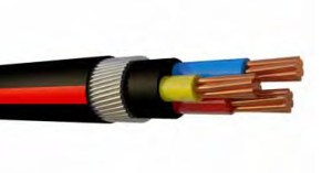 COPPER FLAME RETARDENT (FR) ARMOURED CABLE 1.9_3.3KV
