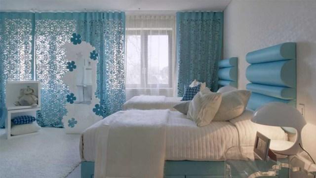 Gorden kamar tidur nyaman