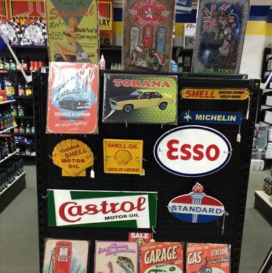competitive prices auto parts and cast plaque's metal signs - Kam Auto Parts