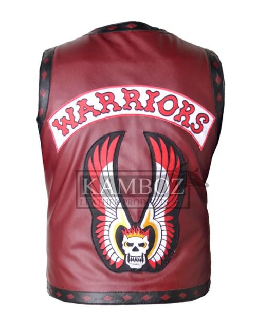 Ajax The Warriors Vest Maroon