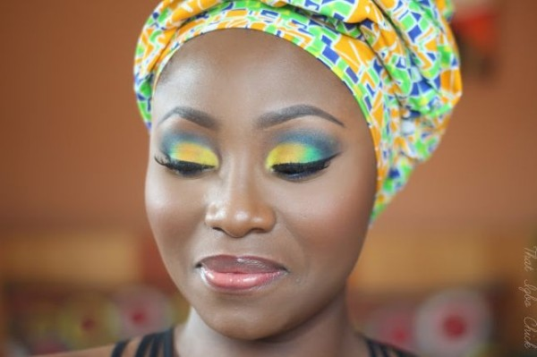 Diy Hawaiian Hibiscus Ankara Inspired Make Up Kamdora