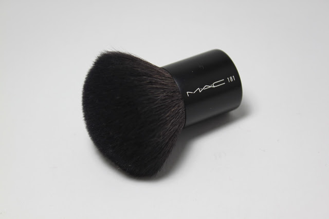 mac powder brush