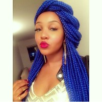Trend Alert: Coloured Braids