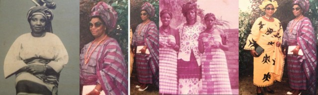 Oreka's sister, aunts, mother and grandmother.