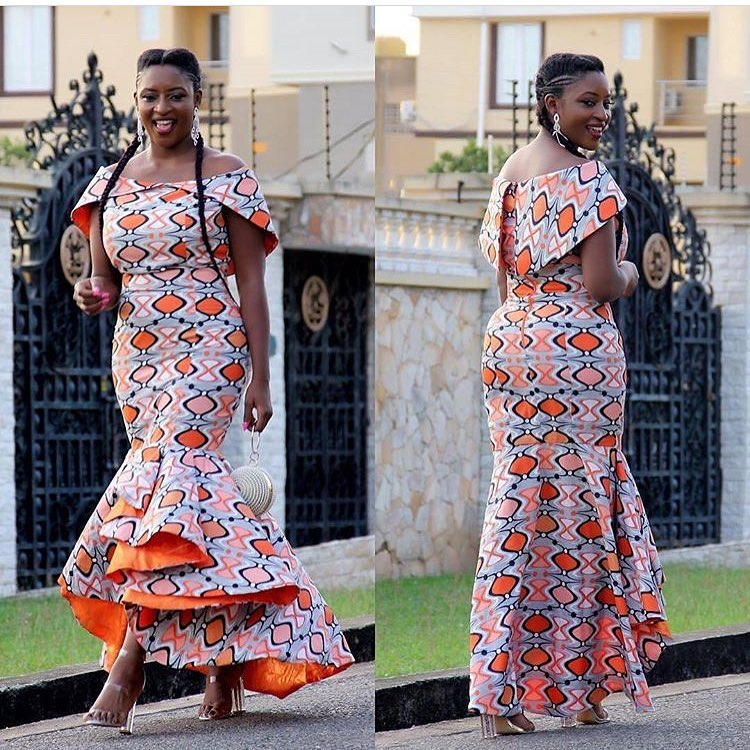Ankara Styles #320: For The Love Of Stylish Ankara Clothes! | Kamdora