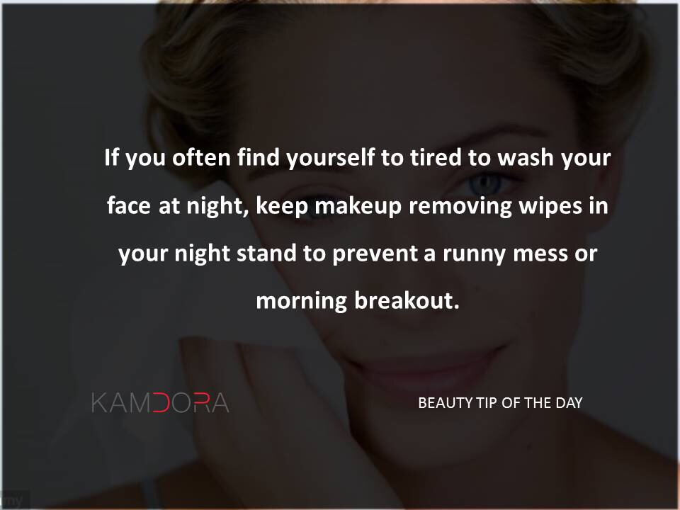 Beauty Tip Of The Day #9: Morning Breakout
