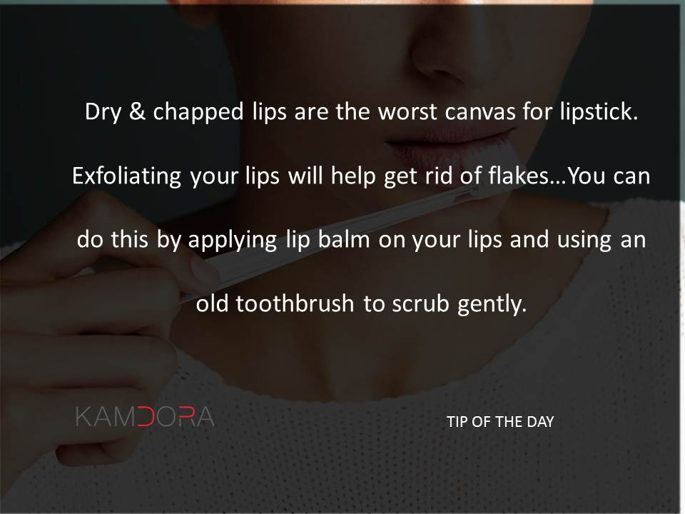 Tip of The Day #10: Toothbrush Lips