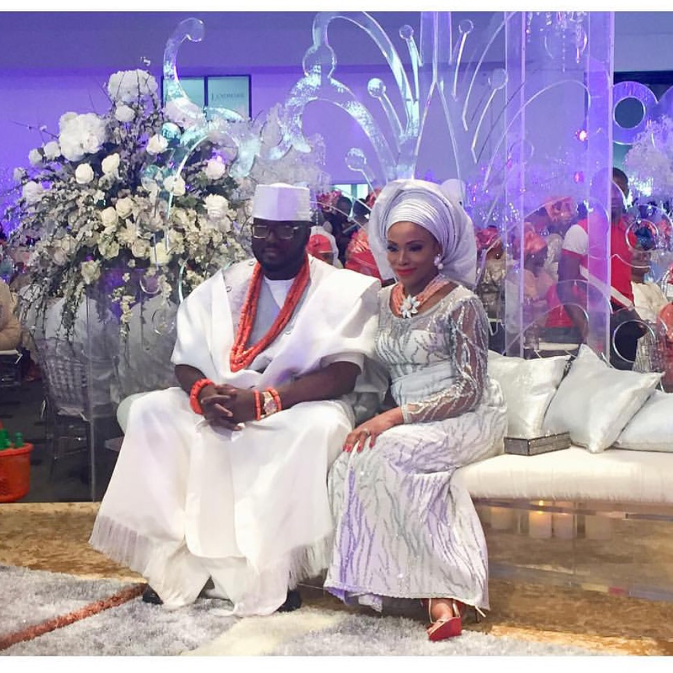 Royal Trad Wedding: Dolapo Oni & Gbite Sijuwade
