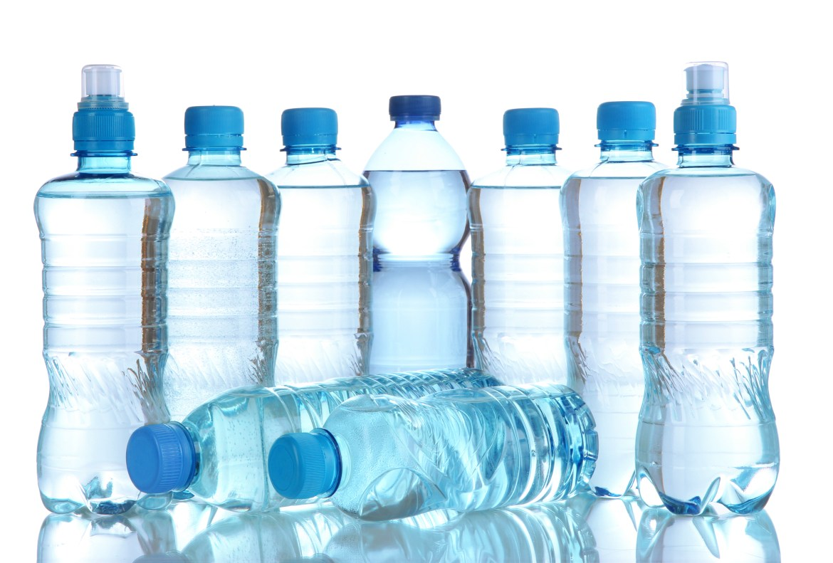 assorted water bottle