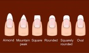 ways shape nails