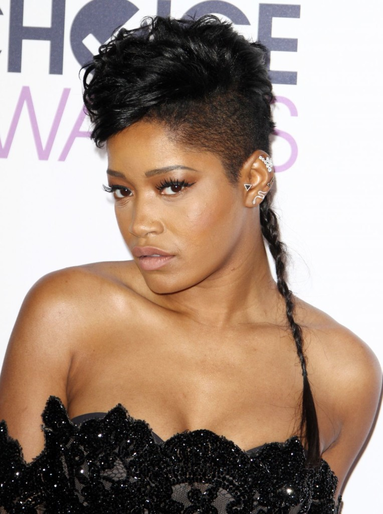 Style Review: Keke Palmer At People's Choice Awards Last Night