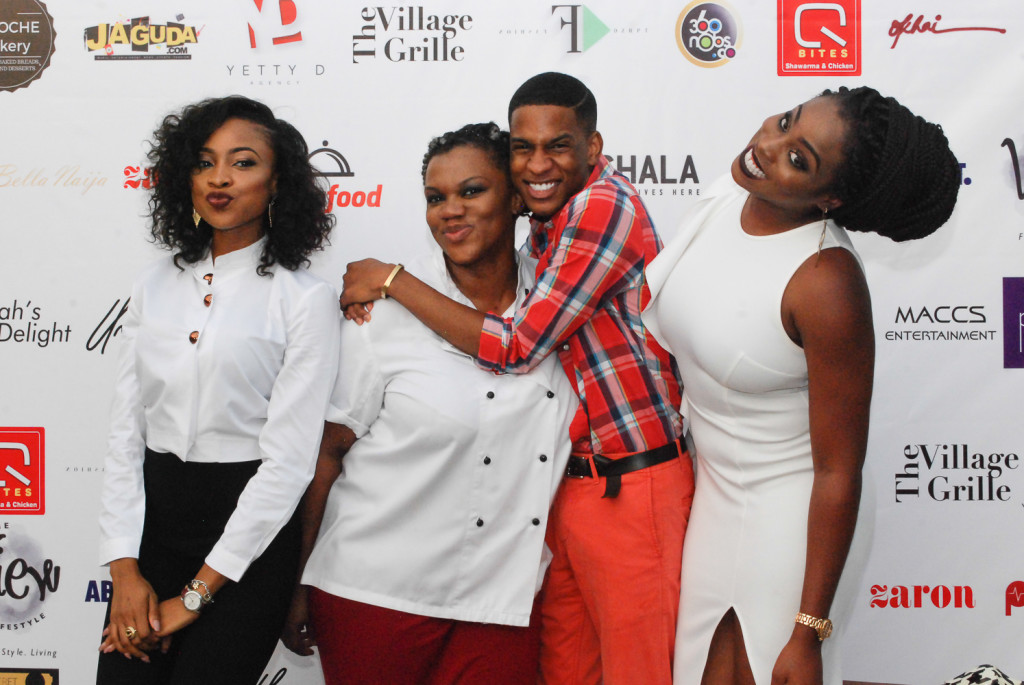 Oge Agu, Zina Anumudu & Denola Grey - 3 Bloggers 1 Night in Lagos