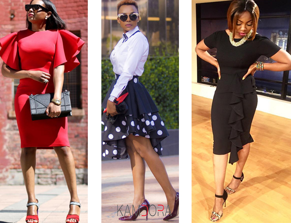 Fashion and Style: Work With The Ruffles!