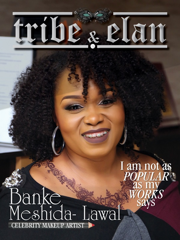 Banke on the cover on Tribe & Elan Mag