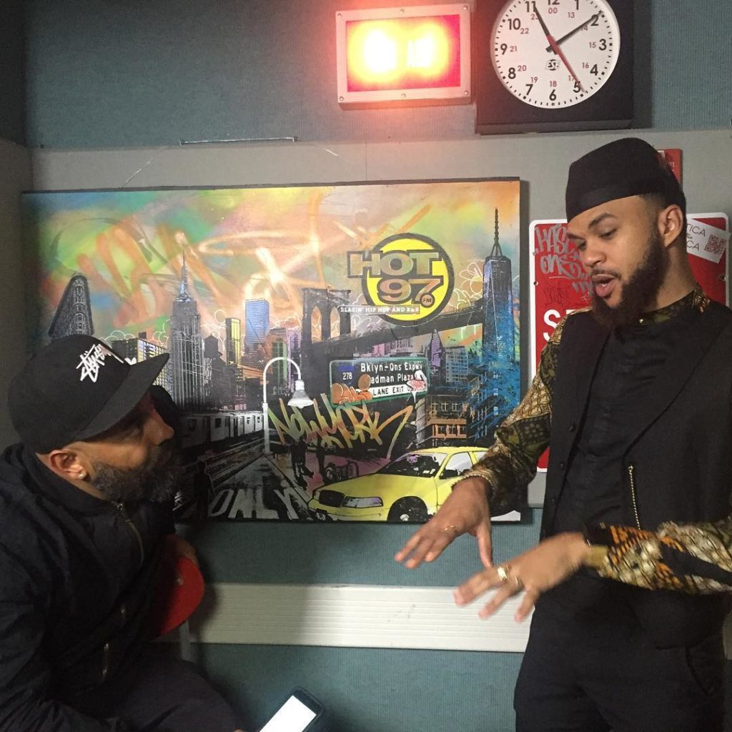 jidenna on hot 97 africa