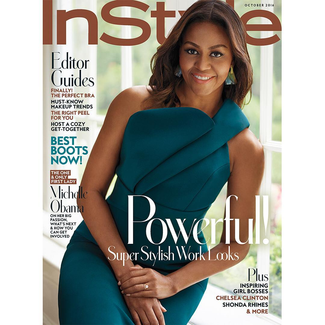 Michelle Obama for InStyle (3)