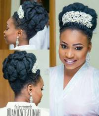 Photos Of Bridal Hairstyles In Nigeria | Fade Haircut