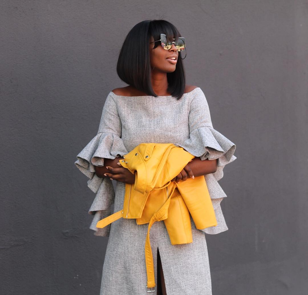 The Perfect Way To Wear Bright Colors & Statement Sleeves