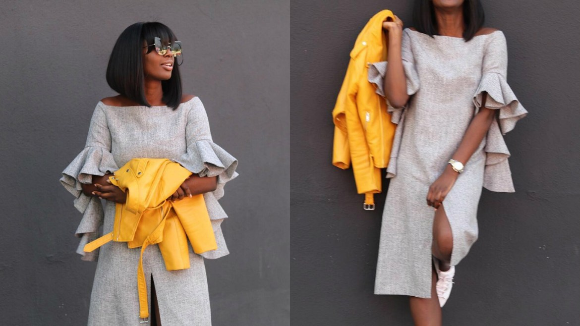 The Perfect Way To Wear Bold Colors & Statement Sleeves