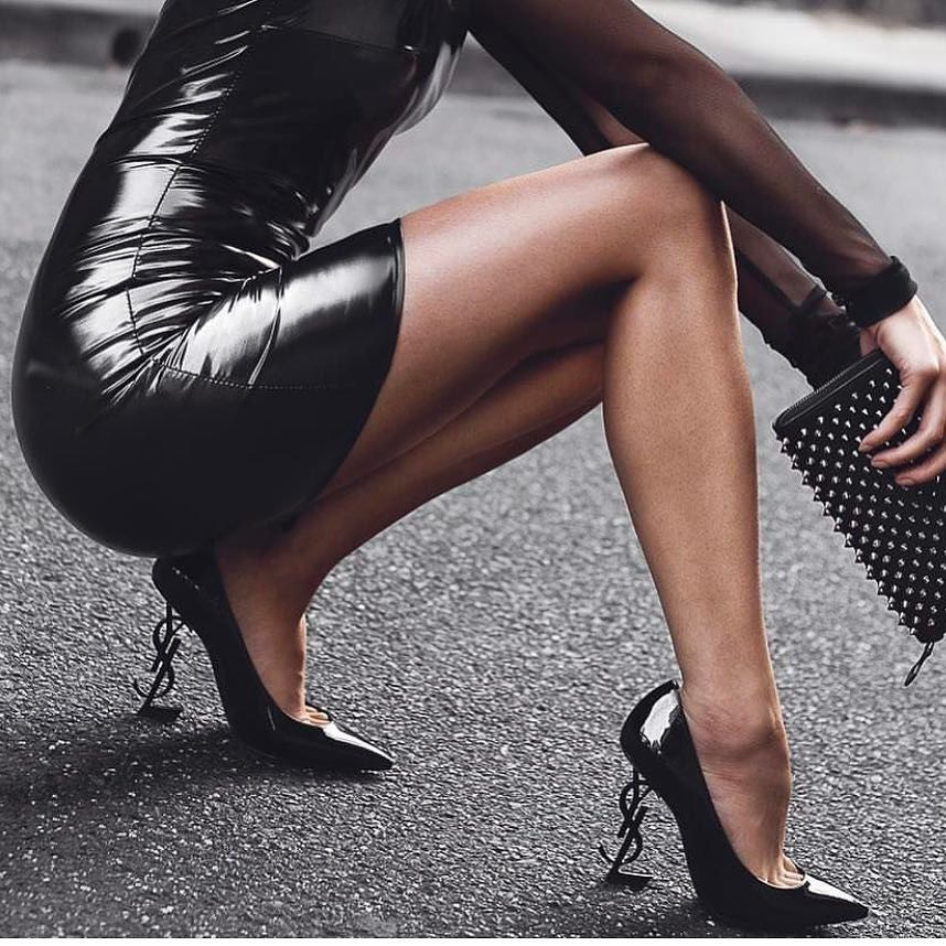 These Yves Saint Laurent Opium Shoes Will Get You In The