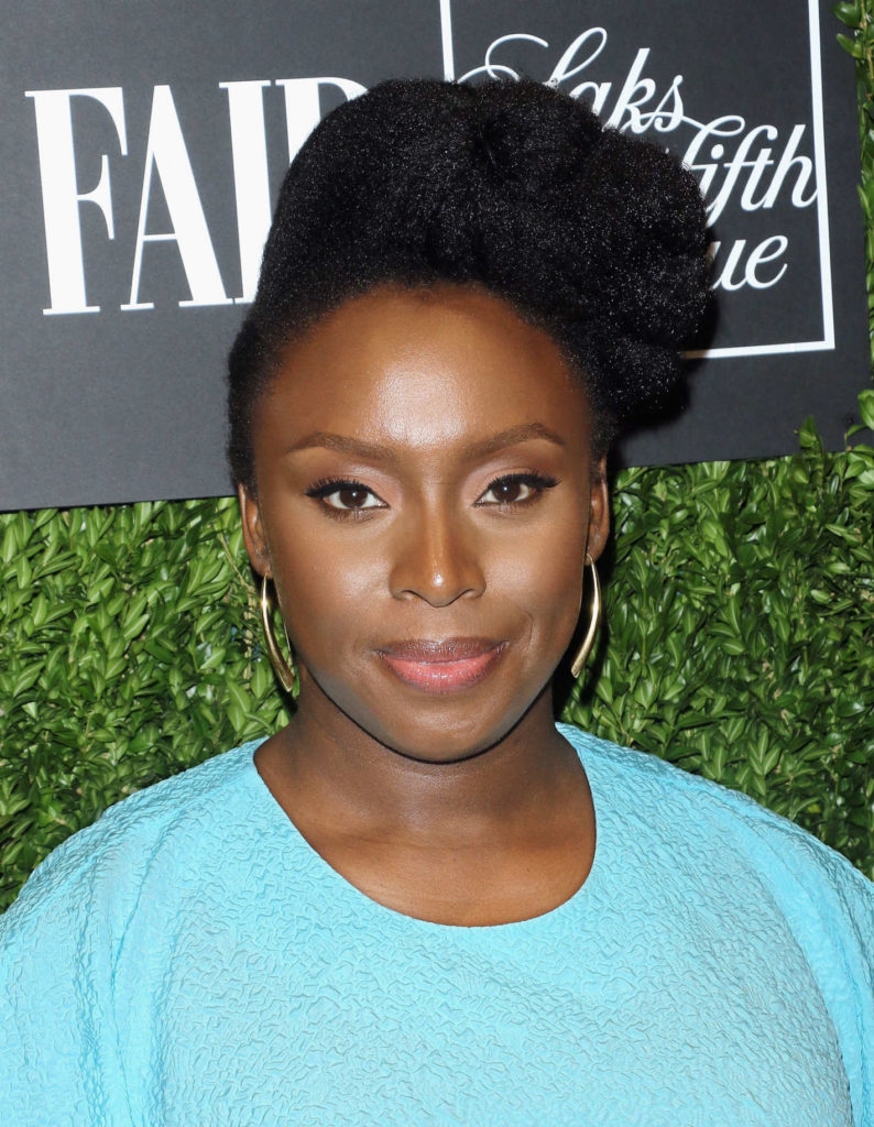 Chimamanda Ngozi Adichie Natural Hair 11