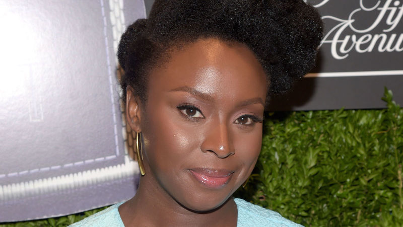 Chimamanda Ngozi Adichie Natural Hair 12