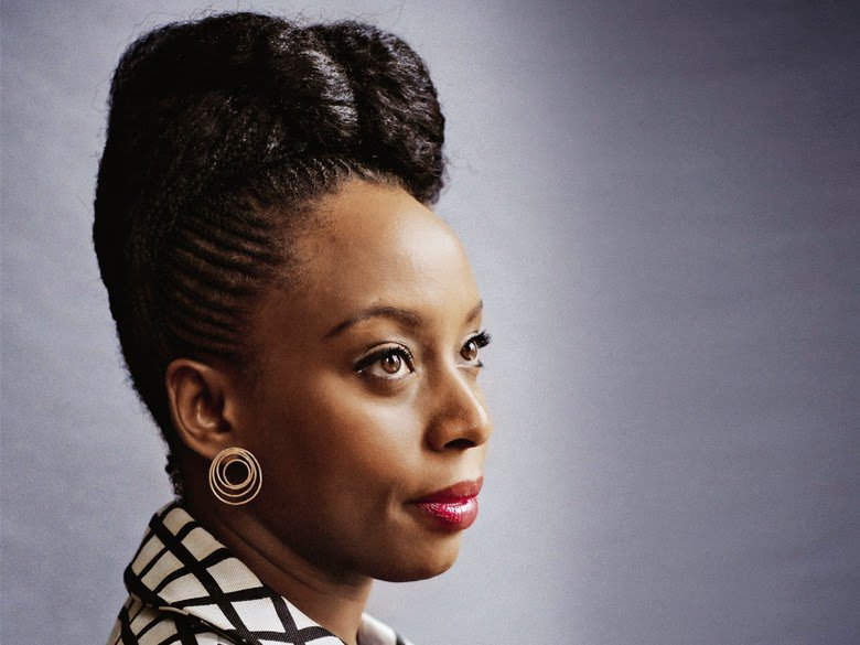 Chimamanda Ngozi Adichie Natural Hair 5