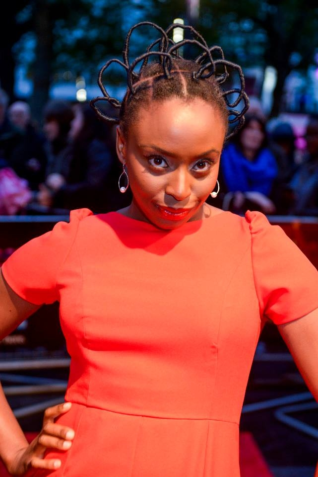 Chimamanda Ngozi Adichie Natural Hair 9