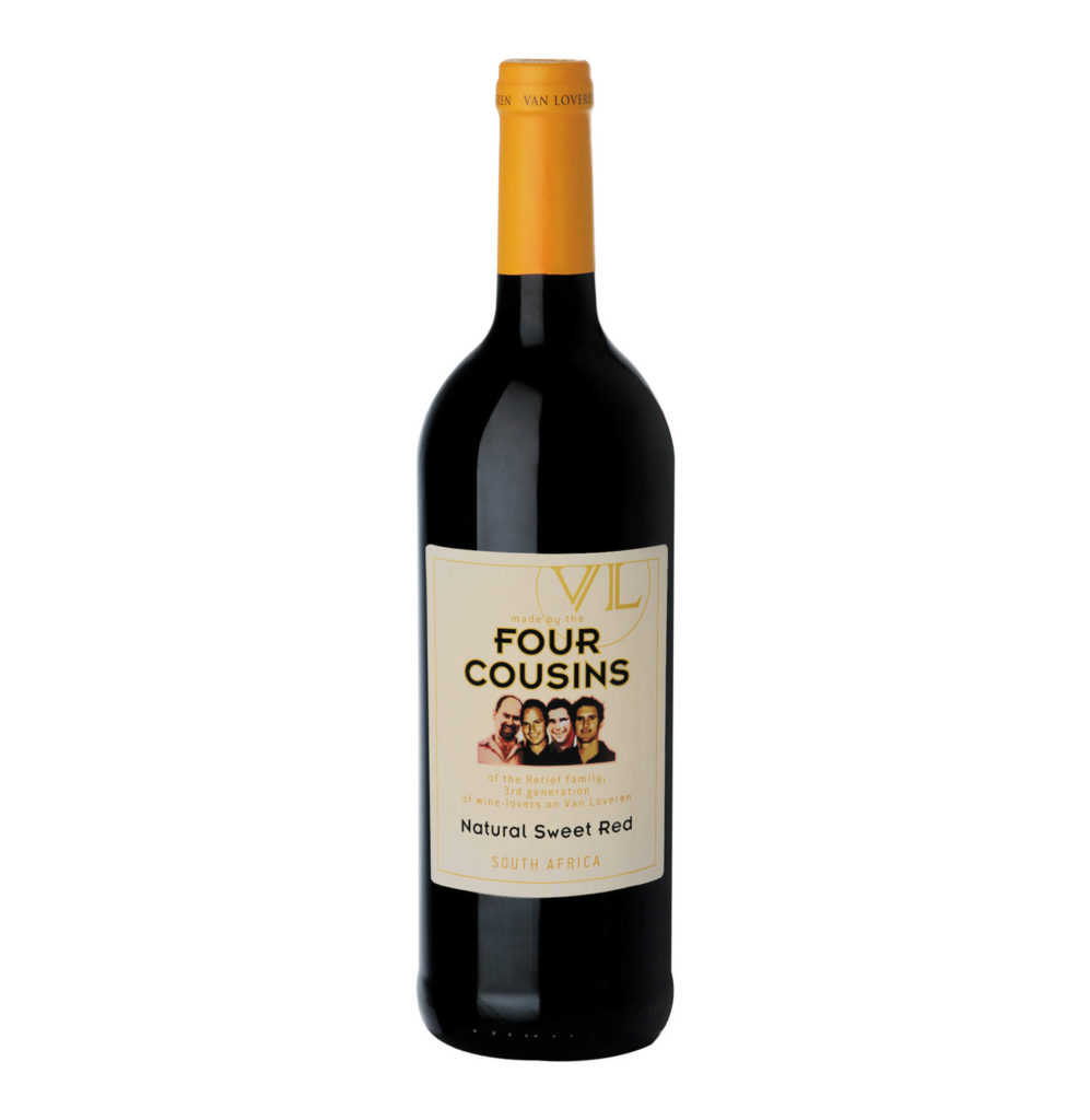 Four Cousins Natura Sweet Red Wine
